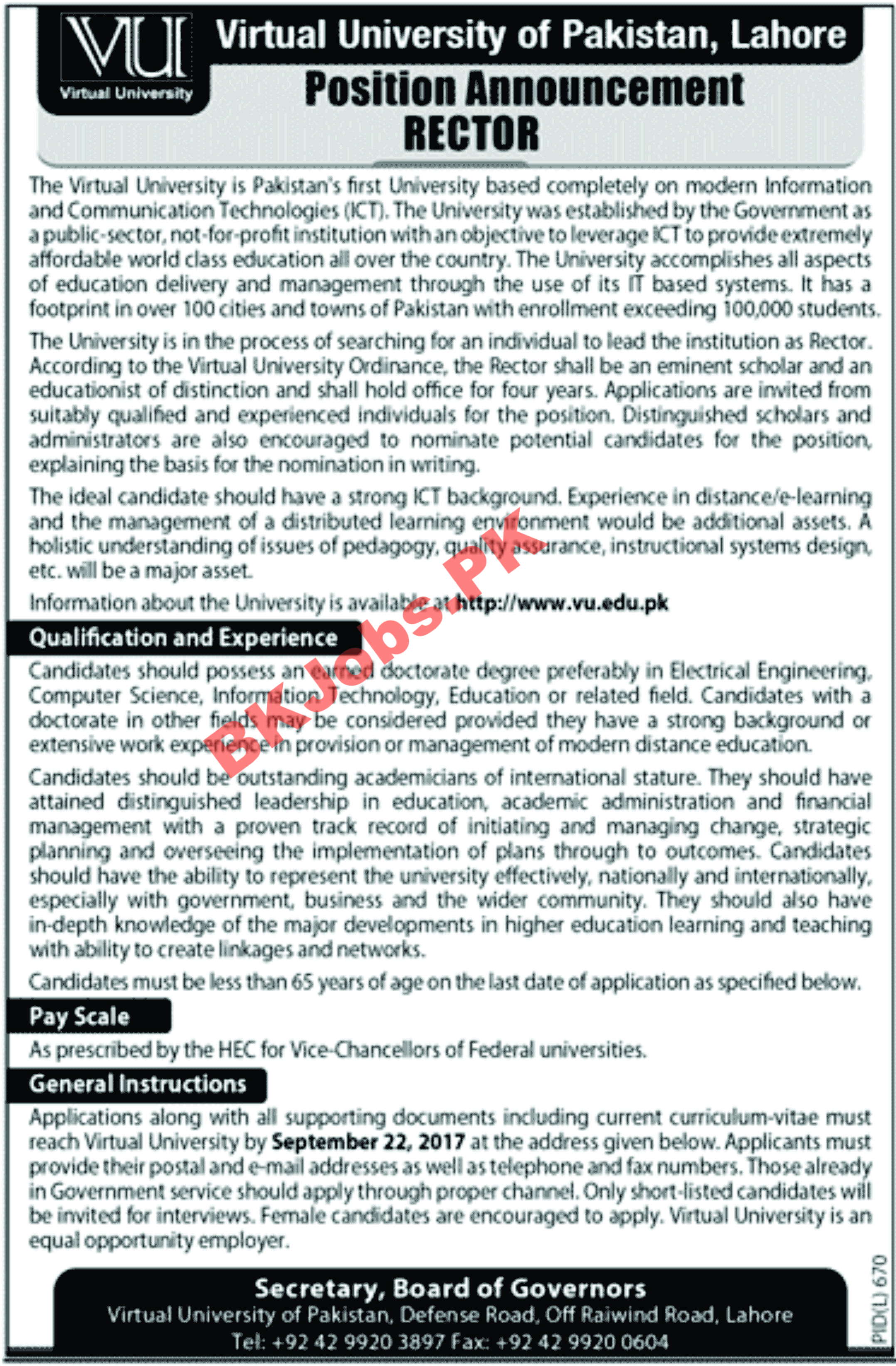 Advertisement For Jobs